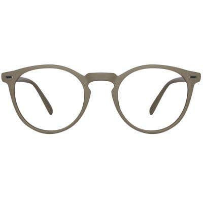 Round Eyeglasses 121099-c