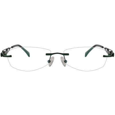 Rimless Eyeglasses 123985-c
