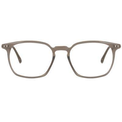 Rectangle Eyeglasses 1277825 (Grey-Silver)