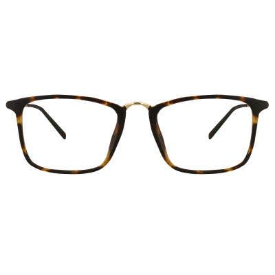 Rectangle Eyeglasses 128600 (Tortoise-Gold)