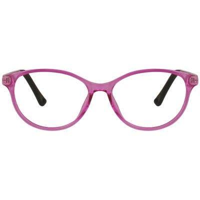 Kids Oval Eyeglasses 129175