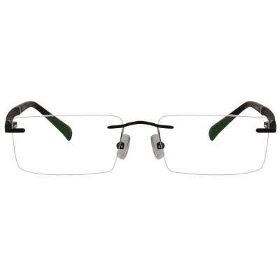 Chicago Rimless Eyeglasses