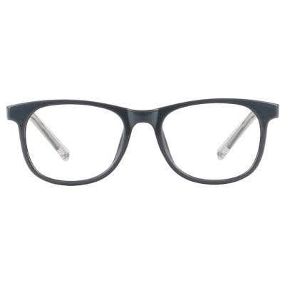 Kids Eyeglasses 131295-c-Grey-Clear