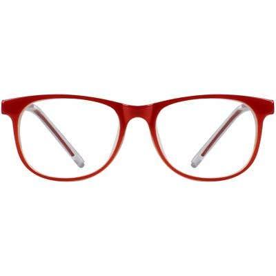 Kids Eyeglasses 131301-c-Red-Cream