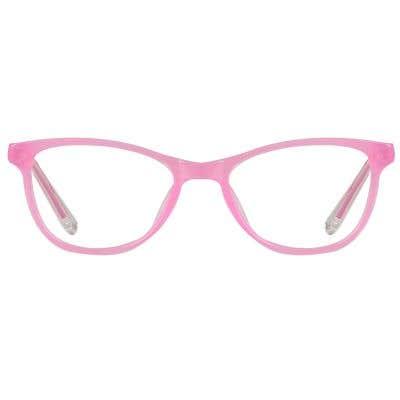 Kids Eyeglasses 131366-c-Pink-Clear