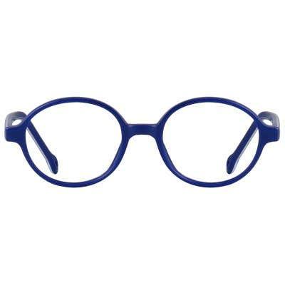 Kids Eyeglasses 131605-c-Blue-White