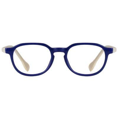 Kids Eyeglasses 131615-c-Blue-White