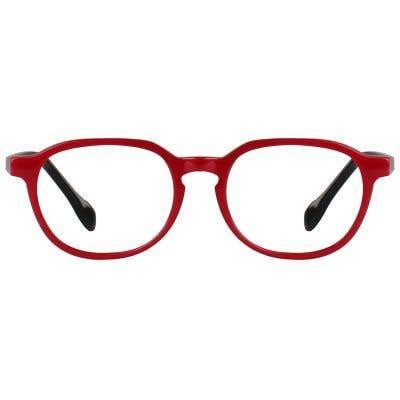 Kids Eyeglasses 131615-c-Red-Black