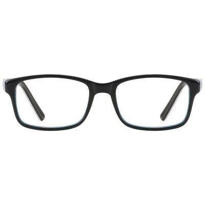 Kids Eyeglasses 132015-c-Black-Blue1