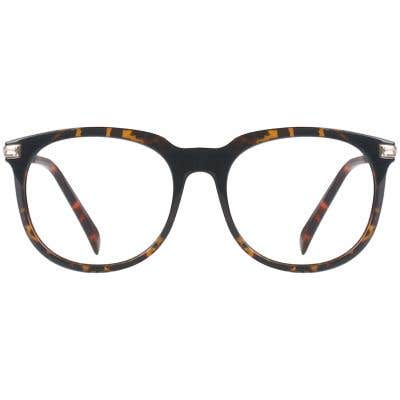 Rectangle Eyeglasses 132275-c-Tortoise-Gold