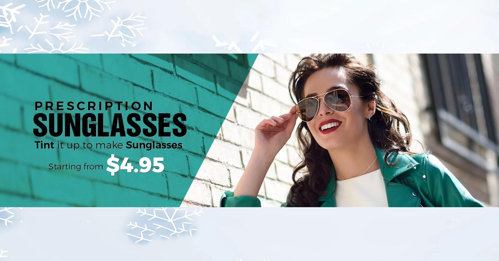 Buy Prescription Sunglasses Online - Goggles4u.com