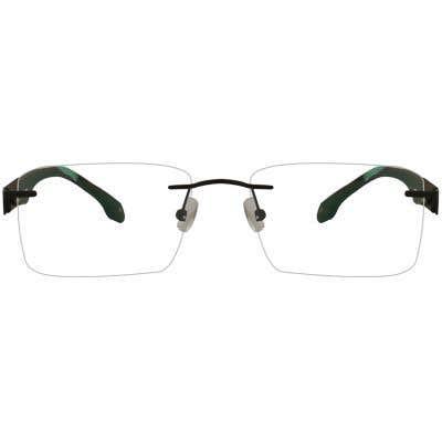 New York Rimless Eyeglasses