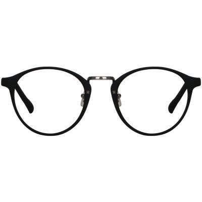 Illusion Round Eyeglasses 129460-c