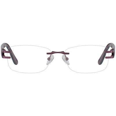 Rimless Eyeglasses 131401-c